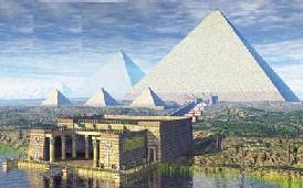 7 чудес света: египетские пирамиды