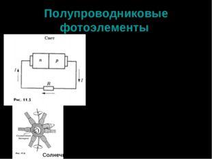Полупроводниковые фотоэлементы На этом явлении основано устройство фоторезист