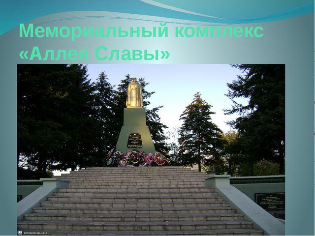 Мемориальный комплекс «Аллея Славы»