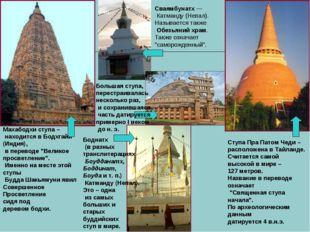 """Махабодхи ступа – находится в Бодхгайи (Индия), в переводе """"Великое просветле"""