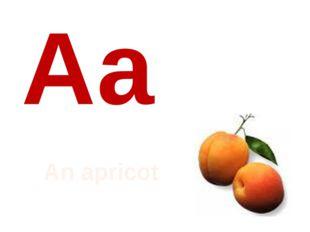 Аа An apricot