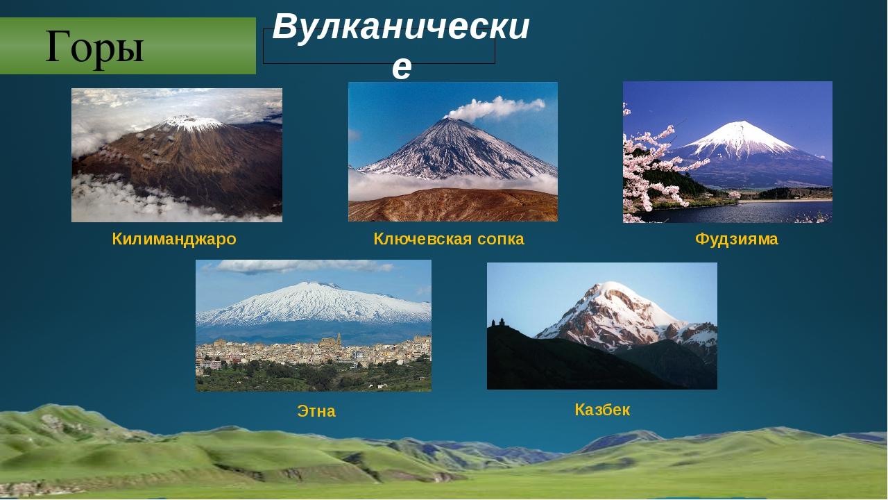 Горы Вулканические