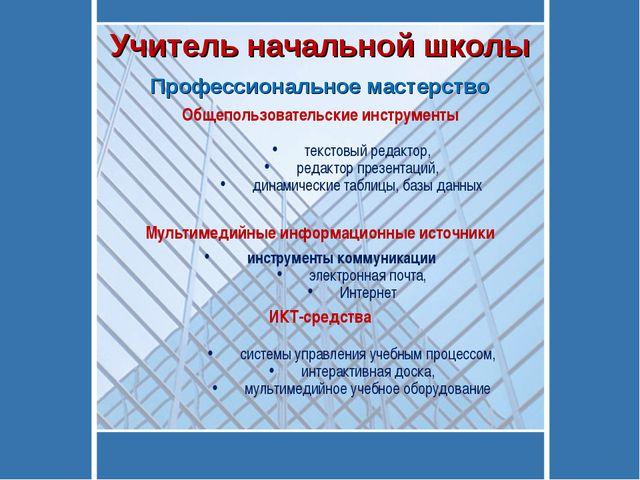 Общепользовательские инструменты текстовый редактор, редактор презентаций, ди...
