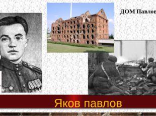 Яков павлов ДОМ Павлова