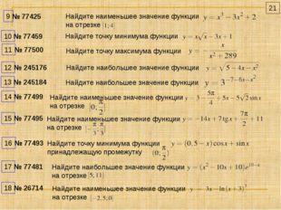 Найдите наибольшее значение функции № 245184 Найдите наибольшее значение функ