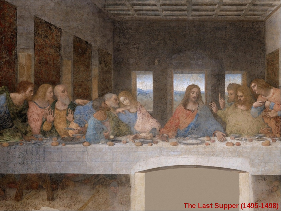 """THE LAST SUPPER"" Speaking gestures The Last Supper (1495-1498)"