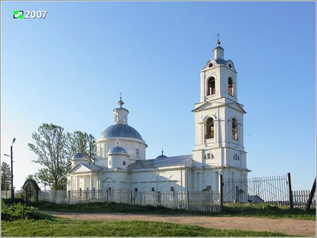 Церковь Тихвинской иконы Божией Матери, Иваново