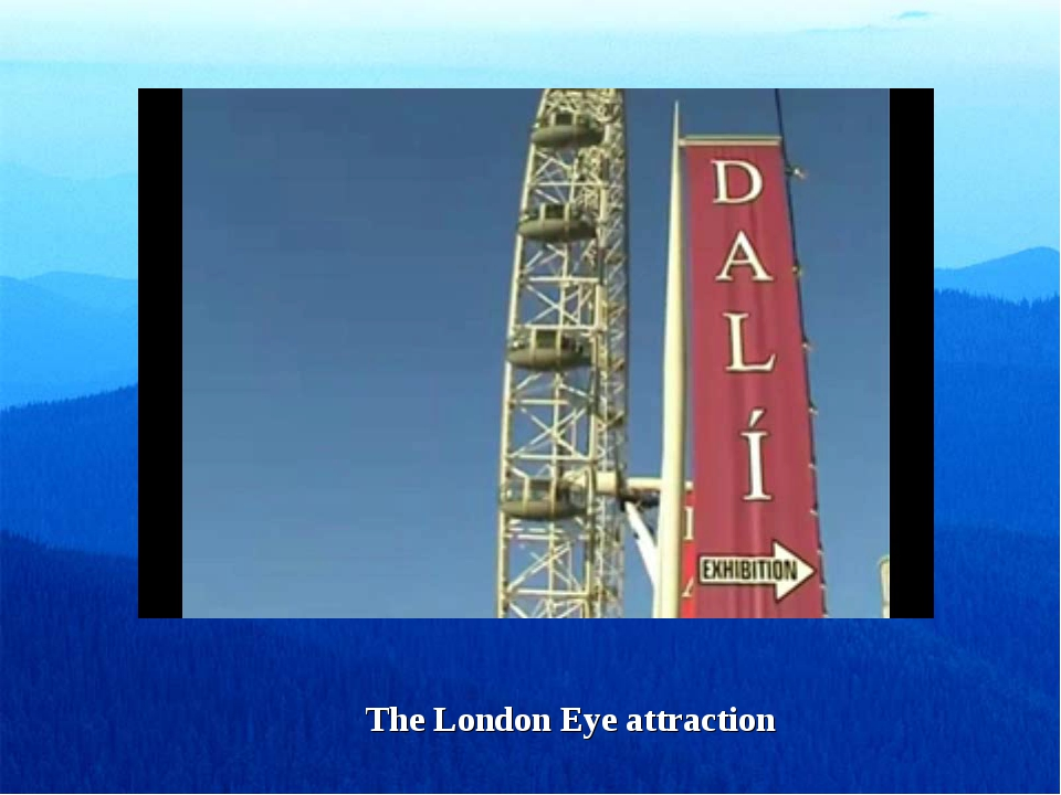 The London Eye attraction